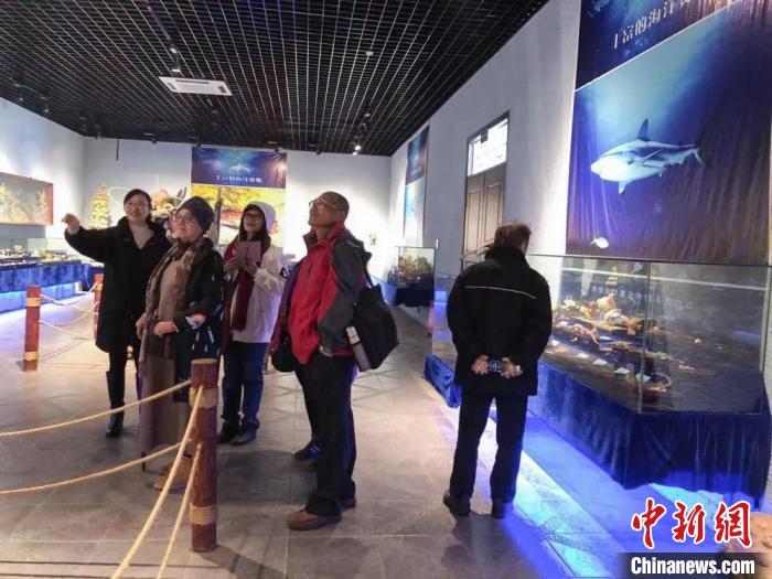 圖為:台灣業者探訪浙江玉環 玉環供圖 攝